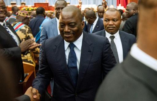 Joseph Kabila le 15 novembre 2016 à Kinshasa © JUNIOR D.KANNAH AFP/Archives
