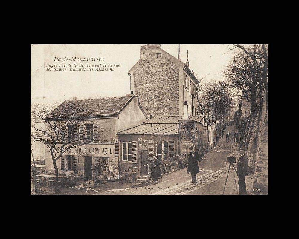 Le Lapin agile en 1905