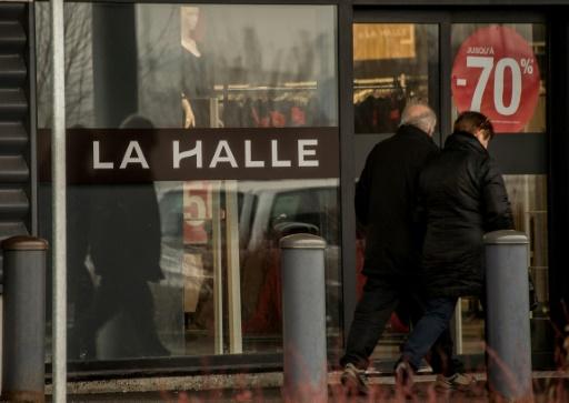Un magasin de l'enseigne LA Halle à Bailleul (nord), le 23 janvier 2017 © PHILIPPE HUGUEN AFP/Archives