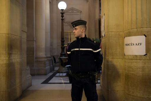 La cour d'appel de Paris, le 24 janvier 2017 © Christophe ARCHAMBAULT AFP