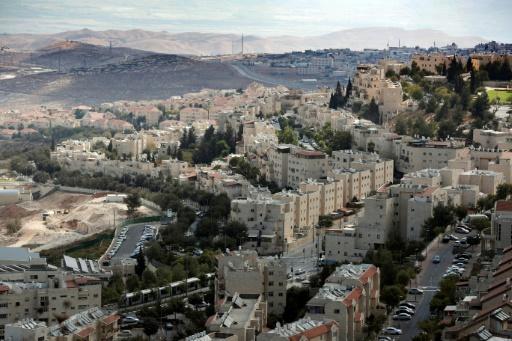 La colonie israélienne de Pisgat Zeev, le 27 septembre 2016 à Jérusalem-est © THOMAS COEX AFP/Archives