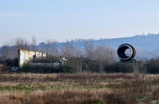 Ruines de l'usine chimique AZF à Toulouse, le 20 janvier 2017 © ERIC CABANIS AFP