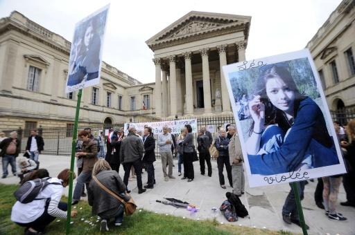 Manifestation à Montpellier le 15 mai 2013 à la mémoire de Léa, une lycéenne assassinée en 2011 © PASCAL GUYOT AFP/Archives