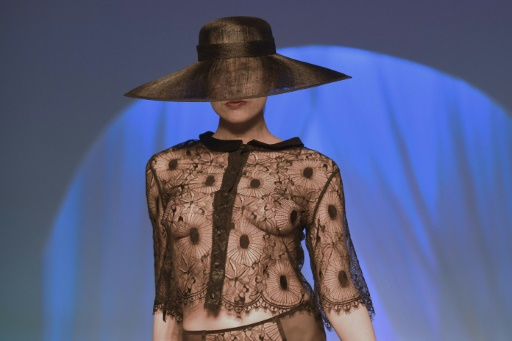 Grâce à ce savoir-faire, l'Hexagone est le numéro un de la lingerie haut de gamme © ALAIN JOCARD AFP