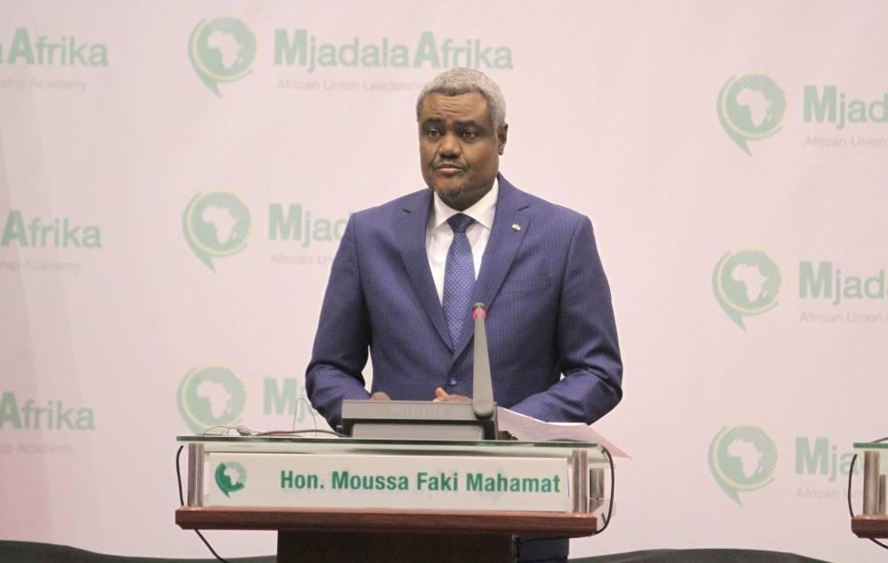 Moussa Faki Mahamat est candidat à la présidence de la Commission de l'UA. ©  UA
