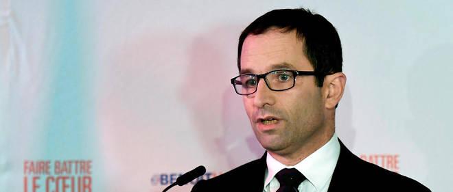 Benoît Hamon, son idée de revenu universel a surplombé la campagne de la primaire.