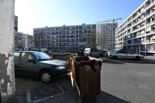 Le 3ème arrondissement de la cité phocéenne, quartier le plus pauvre de France, le 24 janvier 2017 à Marseille © ANNE-CHRISTINE POUJOULAT AFP