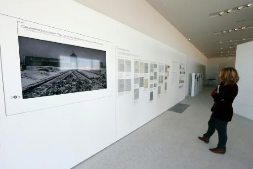 Exposition sur la déportation au Mémorial de la Shoah de Drancy, le 19 septembre 2012 © PIERRE VERDY AFP/Archives