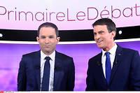 Entre Benoît Hamon et Manuel Valls, un débat pour la forme, puisque l'on sait que ni l'un ni l'autre ne seront président.