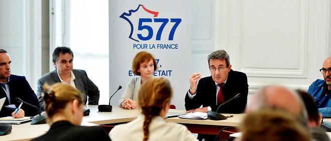 Jean-Christophe Fromantin présente le mouvement «577 pour la France» en juin 2016.
