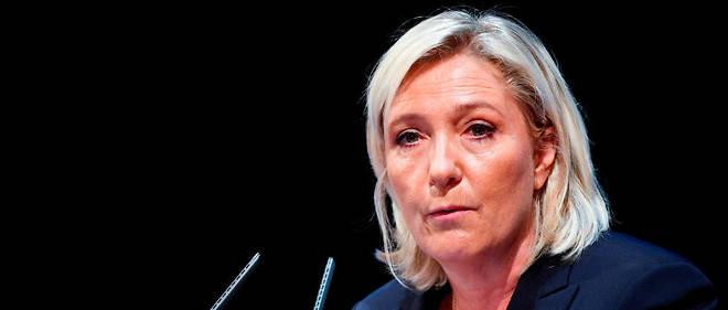 Marine Le Pen était l'invitée du journal de 13 heures.