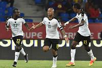 André Ayew, buteur décisif sur penalty pour mener le Ghana vers les demi-finales. ©ISSOUF SANOGO