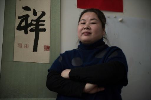 Ye Haiyan s'est fait connaître à partir de 2012 grâce à des méthodes et à un discours très crus. © STR AFP