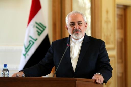 Le ministre iranien des Affaires étrangères Mohammad Javad Zarif, le 6 janvier 2016 à Téhéran © ATTA KENARE AFP/Archives