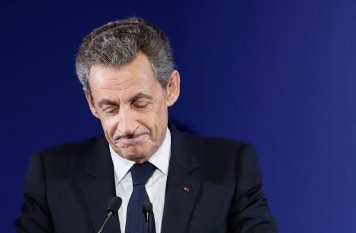 Nicolas Sarkozy, le 20 novembre 2016 à Paris © IAN LANGSDON POOL/AFP/Archives