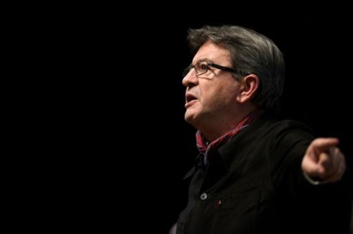 Le candidat à la présidentielle Jean-Luc Mélenchon, le 19 janvier 2017 à Florange © JEAN-CHRISTOPHE VERHAEGEN AFP/Archives