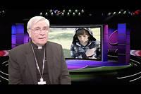Monseigneur di Falco écrit une lettre pour remercier le pape...