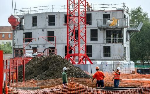 Logement en construction le 27 août 2014 à Lille  © PHILIPPE HUGUEN AFP/Archives