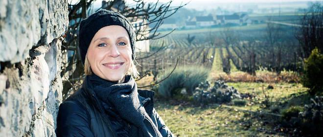 Geraldine Godot, viticultrice en Bourgogne