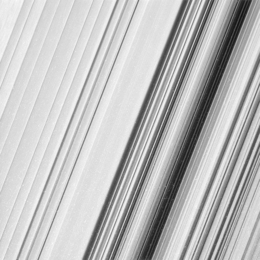 Photo d'un anneau de Saturne ©  NASA/JPL-Caltech/Space Science Institute