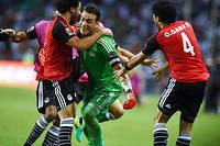 Essam El Hadary, 44 ans, héros de l'Égypte face au Burkina Faso. ©GABRIEL BOUYS