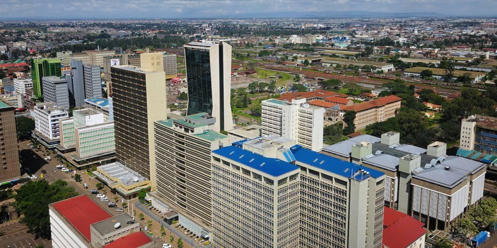 Les buldings en construction dans la capitale kenyane, Nairobi.  ©  magicalkenya