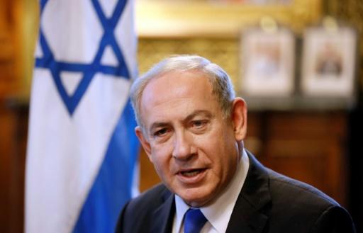 Le Premier ministre israélien Benjamin Netanyahu, le 6 février 2017 à Londres © Kirsty Wigglesworth POOL/AFP