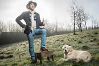 Damien Lemasson, cidriculteur à Cameton dans la Manche