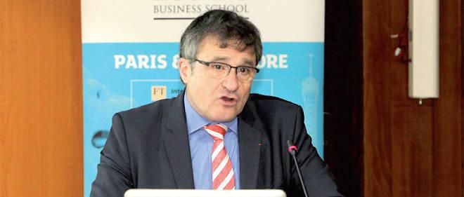 Thierry Sibieude, directeur du campus Essec Afrique Atlantique de Rabat.