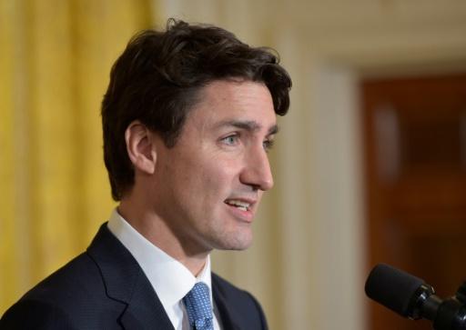 Le Premier ministre canadien Justin Trudeau le 13 février 2017 à Washington © MANDEL NGAN AFP/Archives