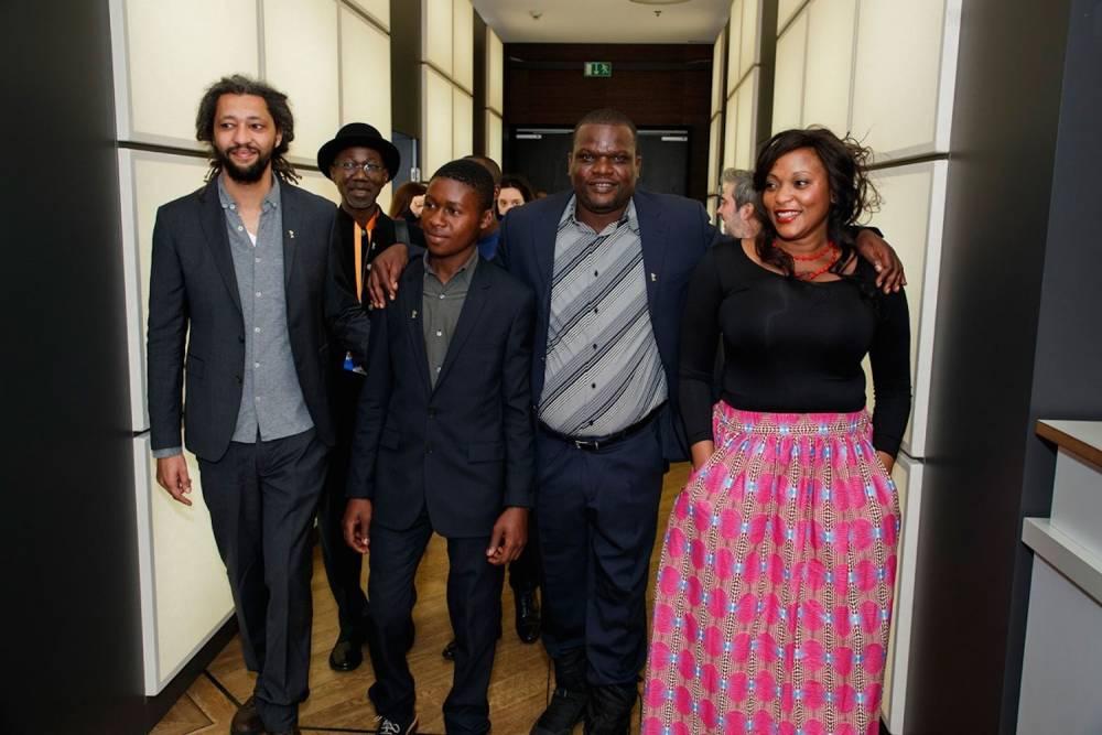 L'équipe du film avant la présentation du film au festival internationale du film de Berlin. ©  Berlinale.de