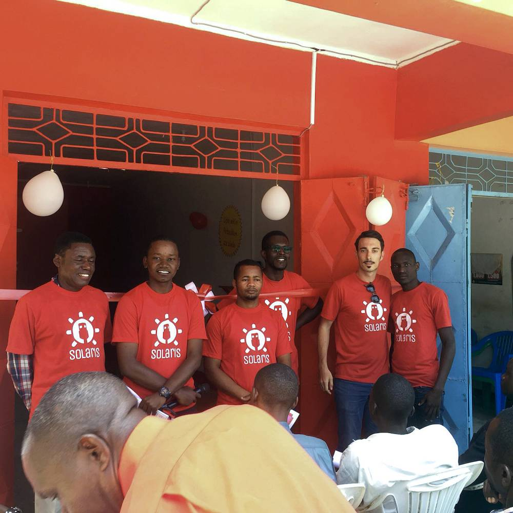 Rentable. En Tanzanie, Thibault Lesueur, qui a créé Solaris il y a un an, a déjà 25 salariés. ©  DR