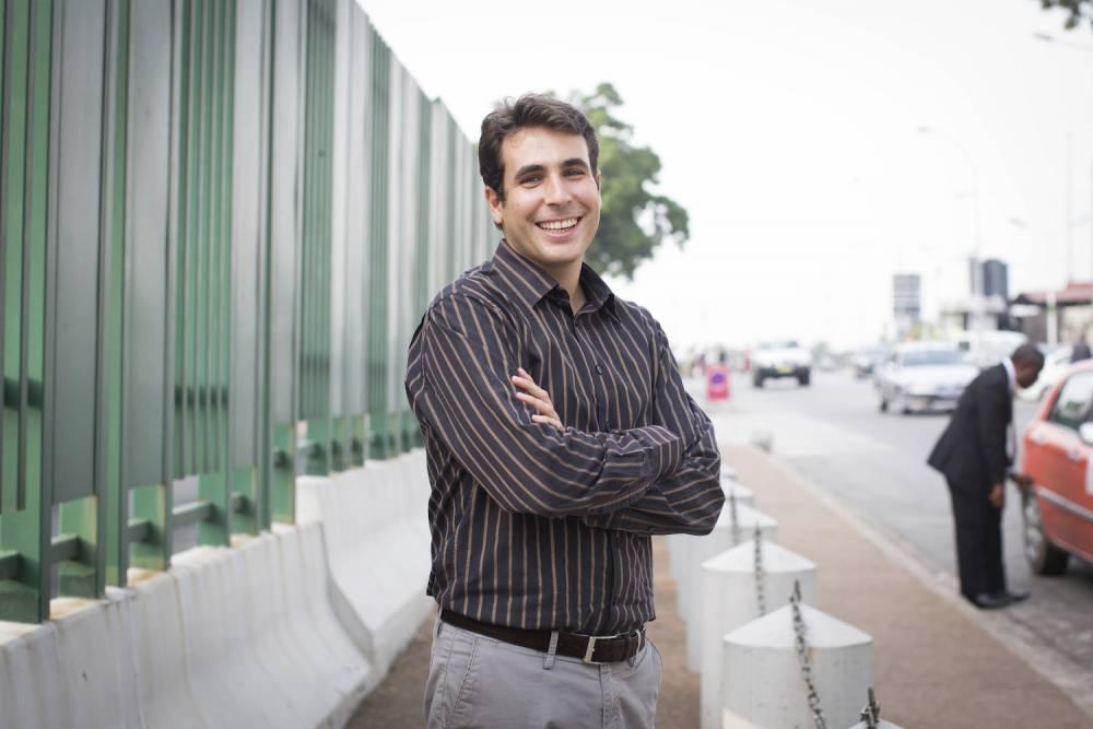 Serial entrepreneur. À 31 ans, Alexandre Castel a déjà monté deux entreprises en Afrique. ©  REA/Ana Pollard