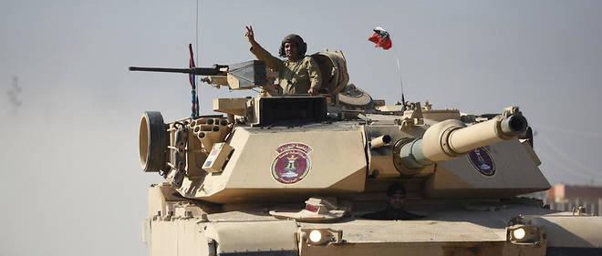 L'armée irakienne poursuit son avancée dans Mossoul pour déloger les membres du groupe État islamique.