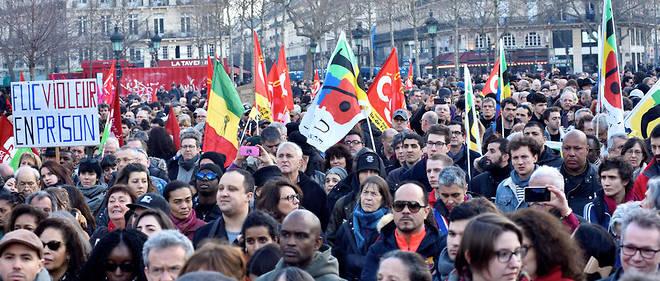 Affaire Theo Affrontements En Marge D Une Manifestation A Paris Le Point