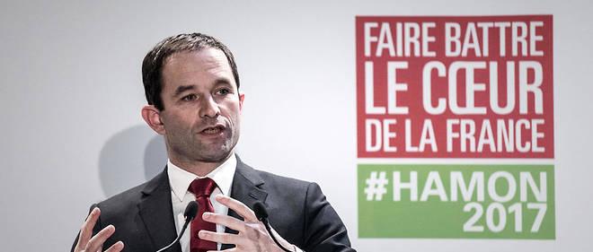 Benoît Hamon défend l'idée d'un revenu universel dans son programme présidentiel.