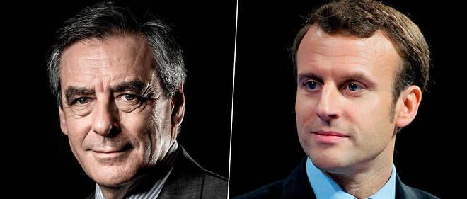 François Fillon veut marquer Emmanuel Macron à la culotte...