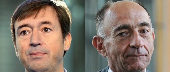 Le PDG d'Air France Jean-Marc Janaillac (à droite) et le directeur général Franck Terner ont communiqué sur la rémunération des dirigeants de la compagnie.