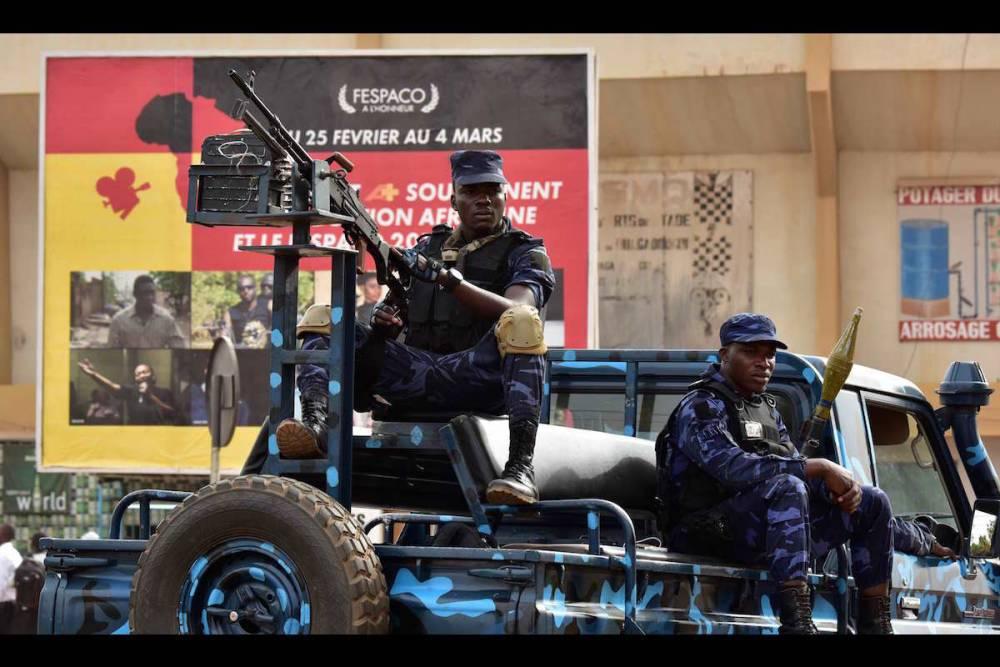 La sécurité est une composante importante pour que tout se passe bien dans cette 25e édition du Fespaco.  ©  ISSOUF SANOGO / AFP
