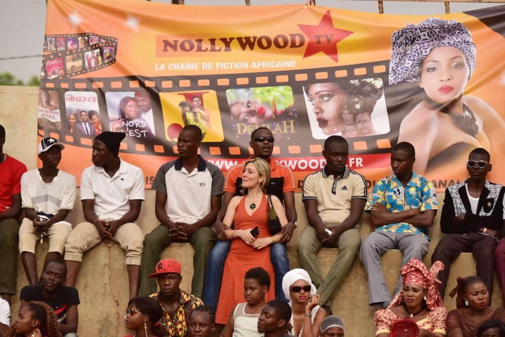 Le public est fidèle au rendez-vous de la fête du cinéma africain. ©  ISSOUF SANOGO / AFP