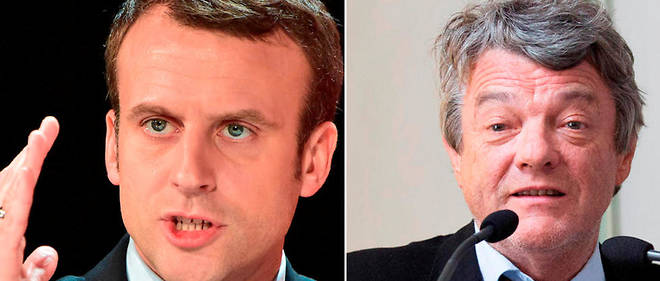 Emmanuel Macron et Jean-Louis Borloo