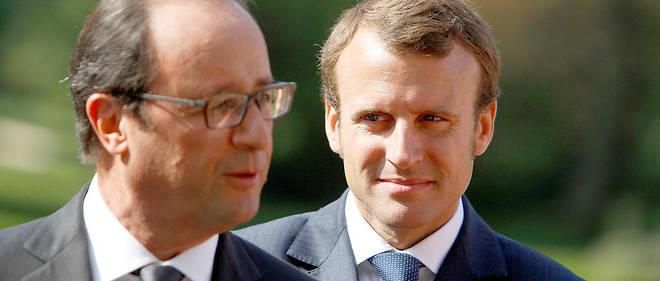 François Hollande et Emmanuel Macron sont opposés sur le plafonnement des indemnités prud'homales en cas de licenciement abusif.