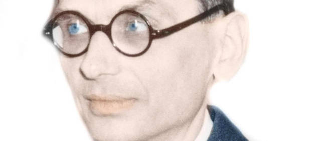 Le mathématicien Kurt Gödel (1906-1978)  en 1951.