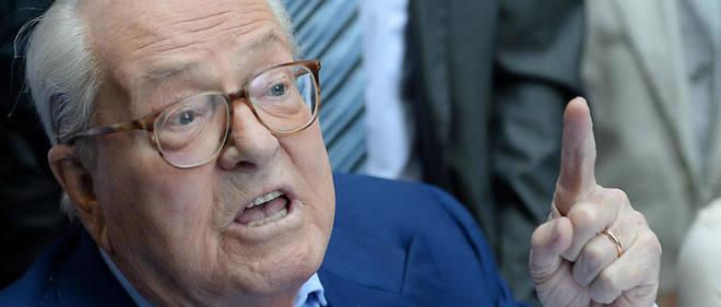 Le président d'honneur du Front national, 88 ans, a été reconnu coupable de contestation de crime contre l'humanité.