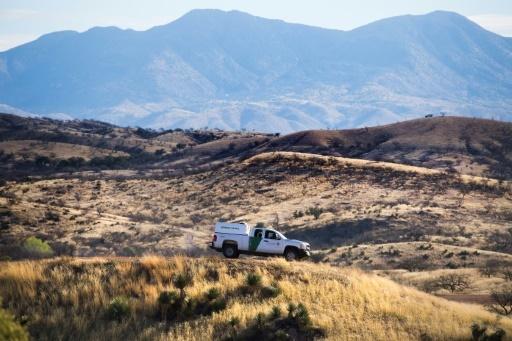 Une patrouille américaine à Nogales, à la frontière entre les Etats-Unis et le Mexique, le 17 février 2017 © JIM WATSON AFP