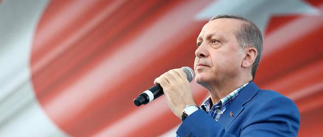 Recep Tayyip Erdogan très remonté contre l'Allemagne.