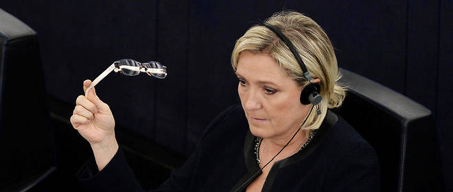 Marine Le Pen, presidente du Front national.