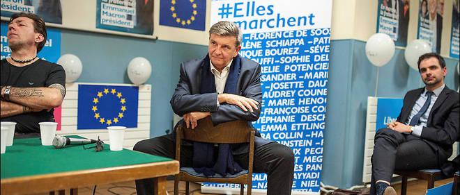 Rouage. Surnommé le «Bill Gates du social», Jean-Marc Borello, queMacron a eu comme enseignant, porte la bonne parole du candidat dans laFrance entière.