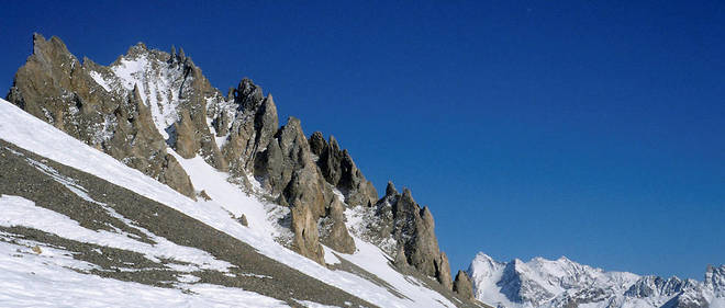 Une avalanche a traversé une piste ouverte de la station de Tignes (image d'illustration).