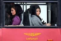 En Iran, la partie avant des bus est réservée aux femmes (photo d'illustration). ©ATTA KENARE